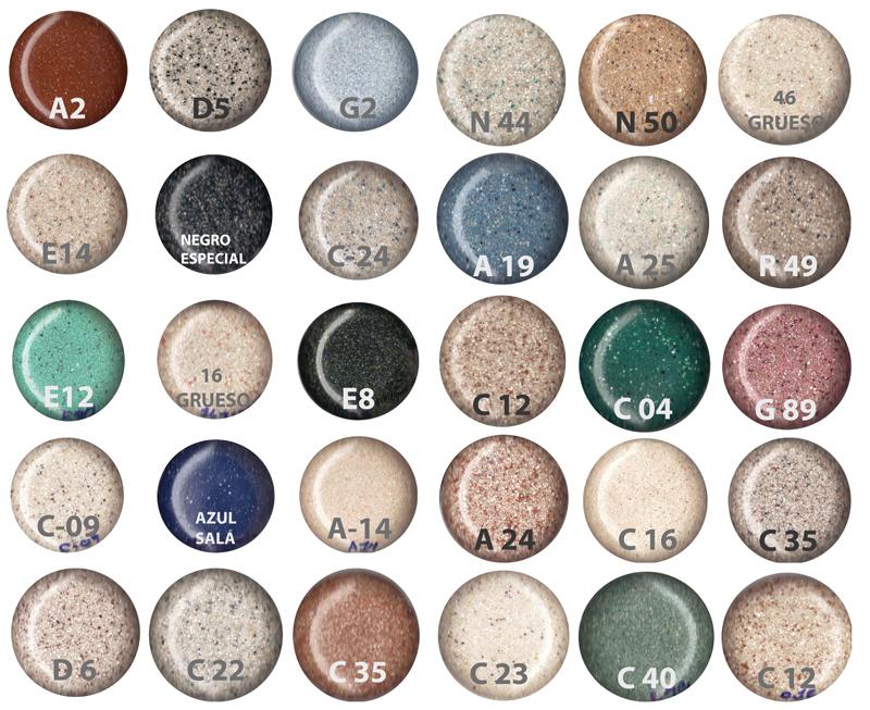 lavatorio granito sinttico colores